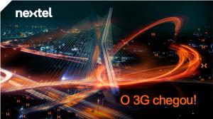 3G CHEGOU