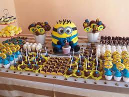 Decoração Festa Aniversário Infantil Tema Meu Malvado Favorito – Fotos e Dicas  Decoração Festa Aniversário Infantil