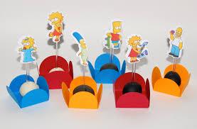 Decoração Festa de Aniversário Infantil Com Tema os Simpsons – Fotos e Dicas