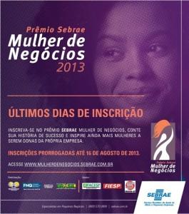 Prêmio Mulher de Negócios Sebrae 2013