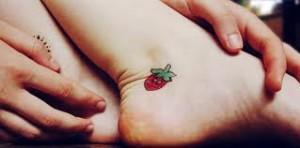 Tatuagens Femininas  Delicadas Para os Pés