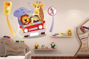 adesivo-parede-decoracao-quarto-infantil-carros-bichos