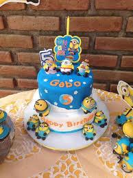 Decoração Festa Aniversário Infantil Tema Meu Malvado Favorito – Fotos e Dicas  bolo meu malvado favorito