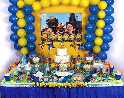 Decoração Festa Aniversário Infantil Tema Meu Malvado Favorito – Fotos e Dicas  meu malvado favorito