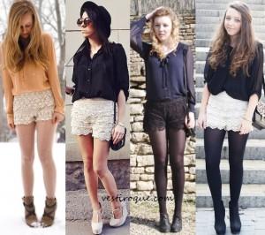 shorts com renda 8