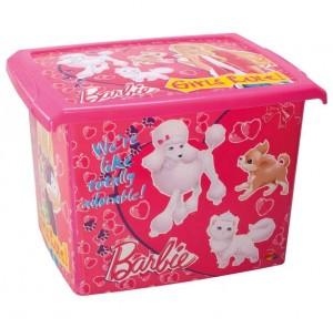 caixa brinquedos barbie