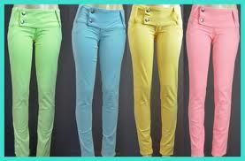 calcas coloridas femininas