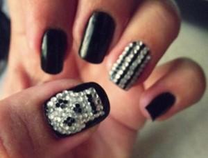 decoradas unhas