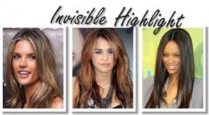Mechas Invisible Highlight