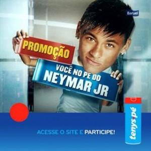 Promoção Você no Pé do Neymar em Barcelona - 1 - 04sep13