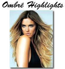 ombre Mechas Invisible Highlight