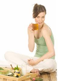 Chá de Centella Asiática Para Redução de Celulites