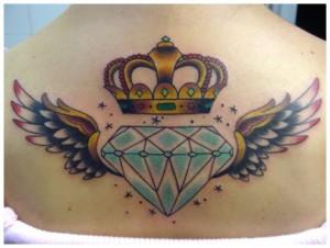 Tatuagens de Coroas Femininas   Modelos de Tatuagem, Significado tatoo11 300x226