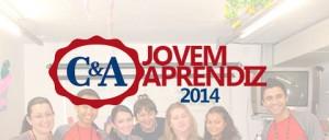 Programa Menor Aprendiz Lojas C&A 2014 – Inscrições e Benefícios  CA JOVEMAPRENDIZ 20141 300x128