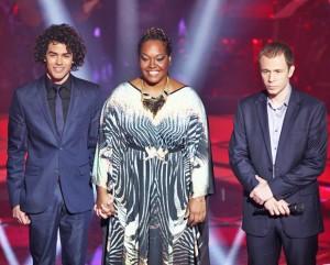Votação Final  The Voice Brasil 2013 – Enquete Lucy x Sam Alves x Pedro Lima ou Rubens Daniel  palco samgaby 300x241