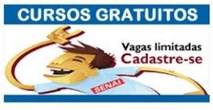 Cursos Gratuitos Senai de Florianópolis SC 2014